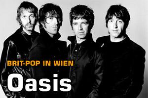 Konzert: Oasis in Wien